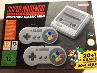 Cambio Nintendo Snes mini por classic mini.