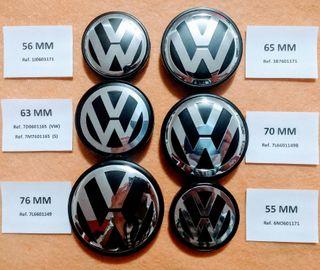 Tapas Volkswagen llanta VW tapabujes Volkswagen