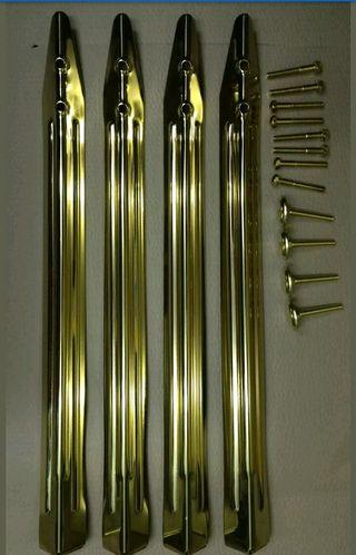 Patas de pinball nuevas oro