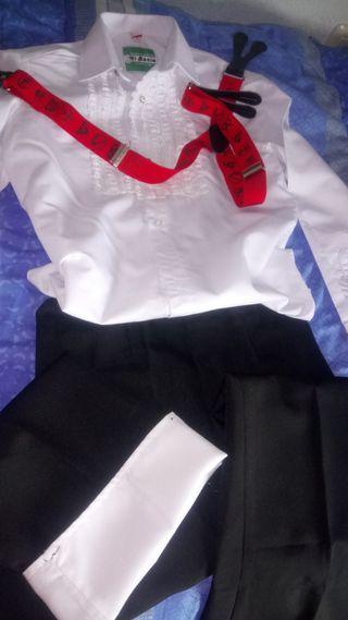 traje flamenco niño