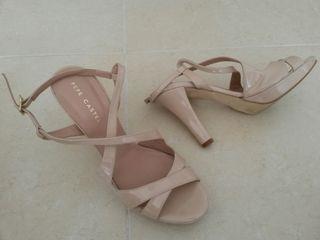 Zapatos de tacon Pepe Castell 39 piel
