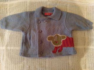 Chaqueta bebe lana 6 meses, invierno
