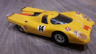 coche scalextric porsche 917 exin amarillo