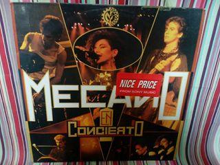 Vinilo Mecano en concierto