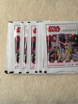 Cromos coleccion Star wars