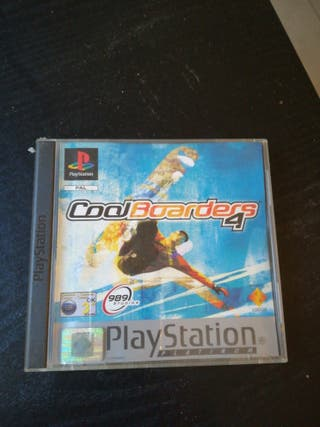 Coolboarders 4 (Playstation 1)