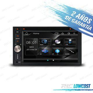 "RADIO 2DIN 6,2"" HD BLUETOOTH USB SD"