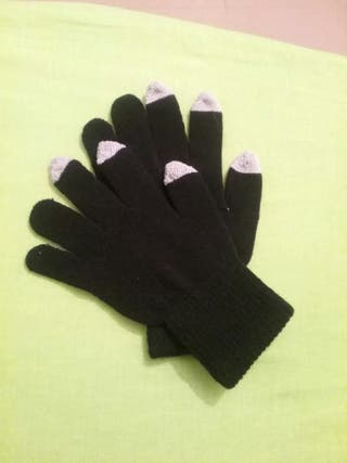 guantes con puntas tactiles