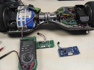 Reparamos hoverboard eléctricos mejoramos batería