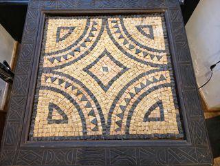 mesa mosaico piedras