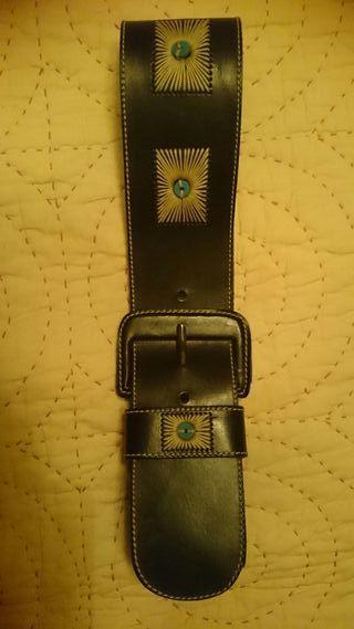 Cinturon de Piel Benetton