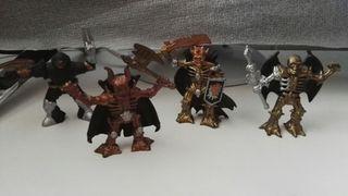 4 figuras de soldados de la muerte chap mei