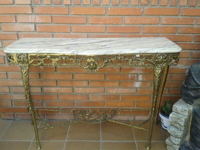 Mesa marmol carrara de segunda mano por 120 en arganda for Wallapop mesas