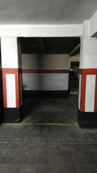plaza de garaje para motos