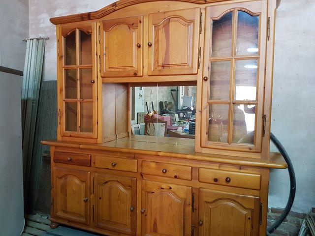 Mueble comedor pino provenzal de segunda mano por 350 € en Salou en ...