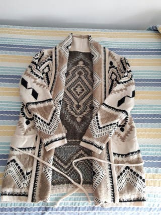 Rebeca y chalecos de lana