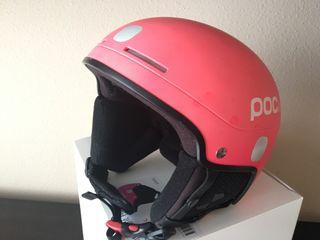 Casco POCito rosa