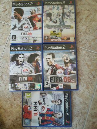 5 juegos play 2