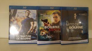 Bluray Bourne 1, 2 y 3