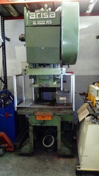 prensa Arisa 100 TN excèntrica. maquinaria taller