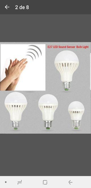 2 bombillas LED ,
