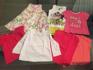 Lote ropa verano T. 1-2 años