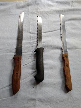 cuchillos sin usar