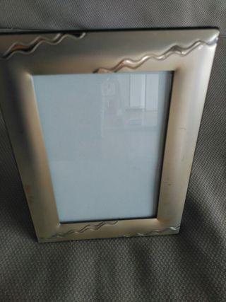Marco para fotos de plata
