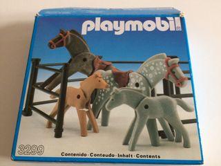 Playmobil 3299 set de caballos