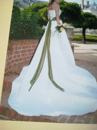 vestido de novia de segunda mano en tres cantos en wallapop