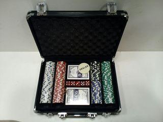 Maletín fichas poker