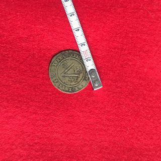 Moneda medieval antigua coleccion joya