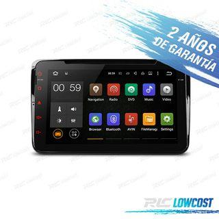"Radio GPS 2din 8"" HD android 5.1 Volkswagen"