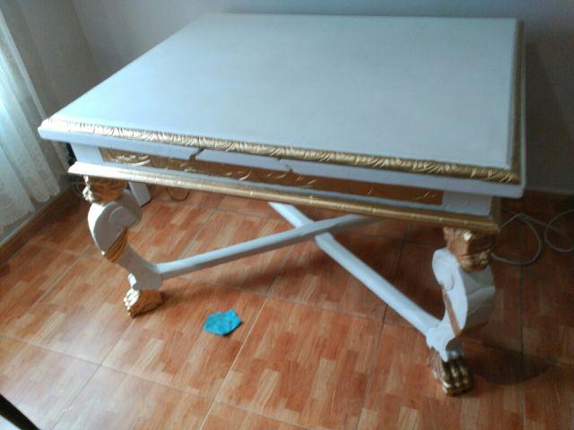 Mesa de comedor antigua restaurada de segunda mano por 400 € en Reus ...