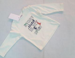 camisetas manga larga nuevas bebe niño