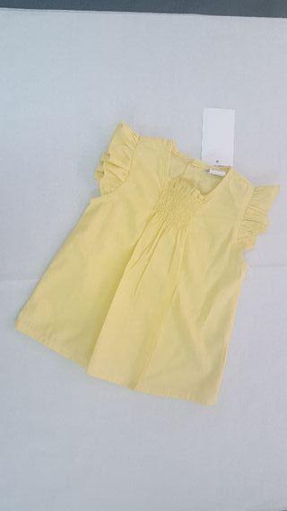 camisa amarilla bebe