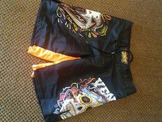 pantalones cortos chico, deporte, boxeo, cross fit