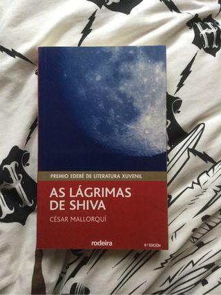 "Libro ""As Lágrimas de Shiva"""