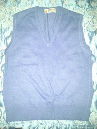 chaleco azul pulligan