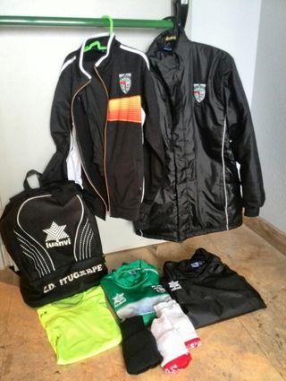 Equipamiento futbol Itugarpe S / XS