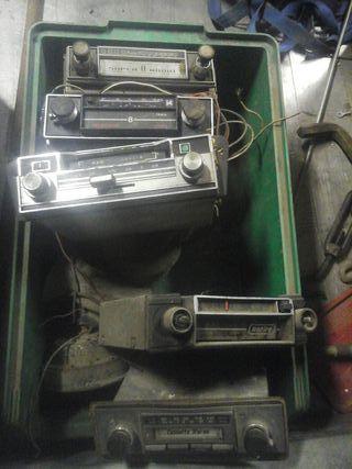 radios de cotches antiguos o clasicos