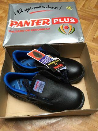 Zapatos trabajo panters n*43