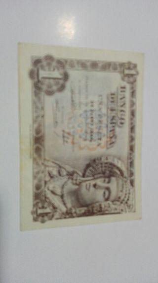1 peseta 1948 Dama de Elche