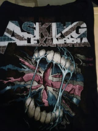 Camiseta Asking Alexandria Negra