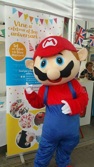 Mario bros animacion fiestas