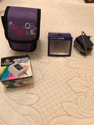 Game Boy Color con juegos