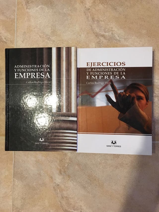 Libros administracion empresa