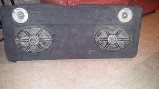 bandeja de coche de seat ibiza con altaboces