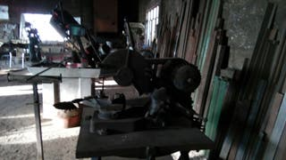 Cuti máquina cortadora disco grande