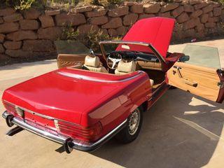 mercedes-benz SL 1972